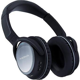 Naztech XJ-500 Wireless Bluetooth Headphones - Black