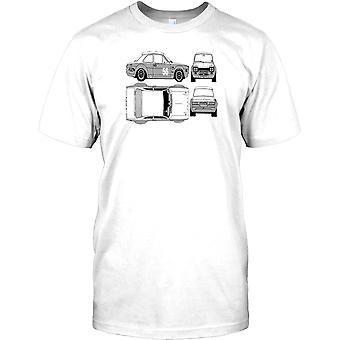 Ford Escort RS1600 - klassisk sportbil barn T Shirt