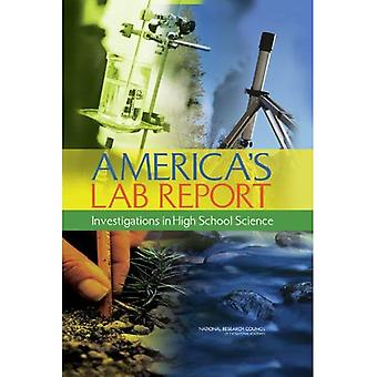 Relazione di laboratorio di America: indagini nel liceo scientifico