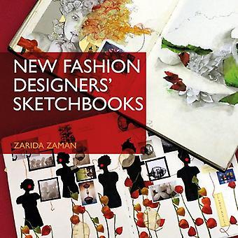 Uusi muotisuunnittelijat Sketchbooks