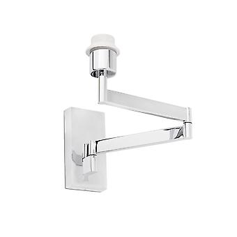Faro - Artis Chrome justerbar væg lampe - Shade ikke inkluderet FARO68495