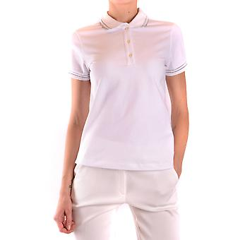 Fay Ezbc035058 Women's White Cotton Polo Shirt