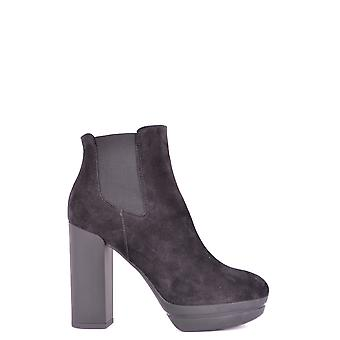 Hogan Hxw3130w710byeb999 Donna's Stivali alla caviglia Black Suede