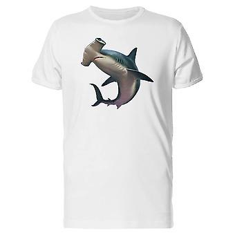 Молотоголовые акулы живописи Tee мужчины-изображений Shutterstock