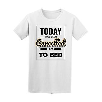 ألغيت اليوم الذهاب إلى السرير المحملة الرجال-الصورة عن طريق Shutterstock