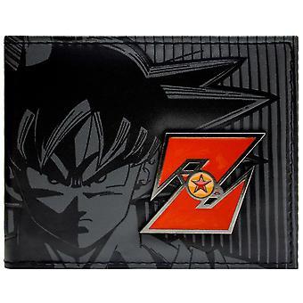 Portafoglio Bi-Fold ID Badge in metallo di Toei Dragonball Z Goku & Card
