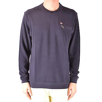 Napapijri Ezbc137004 Homme-apos;s Blue Cotton Sweater