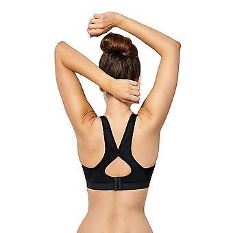 Sans Complexe 79S9804-GUS sport Women's Sport passie zwart niet-Wired beha