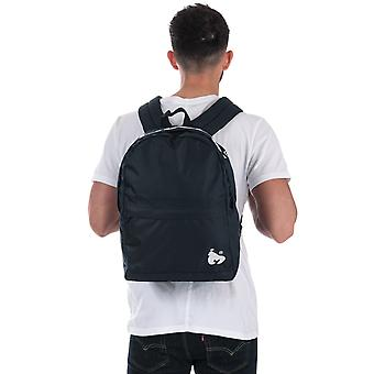 Money Black Label Back Pack In Navy- One Main Zip Compartment- Zip Pocket To