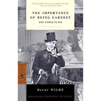 The Importance of Being Earnest and Other Plays by Oscar Wilde - 9780