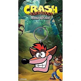 Crash Bandicoot PVC Keyring Crash