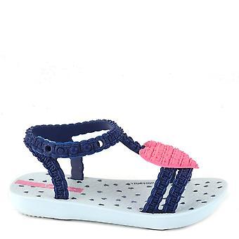 Ipanema bebis mitt första hjärta marinblå sandal