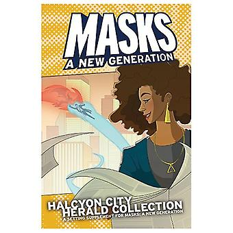 Masker Halcyon City Herald Collection hardcover bog