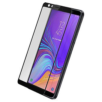 Akashi Samsung Galaxy A7 2018 gehard glas screen protector anti shock zwart