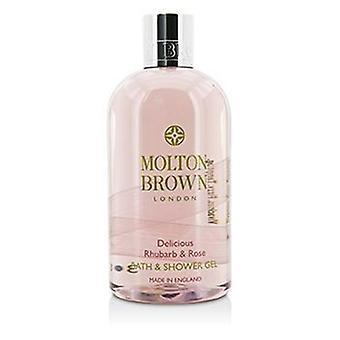 Molton Brown délicieux rhubarbe & Rose bain & Gel douche - 300ml / 10oz