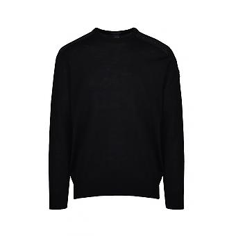 Paul & Shark Paul And Shark Crew Neck Jumper Black