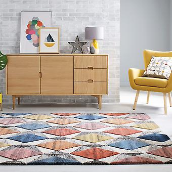 Yara Wool Rugs In Multicolour From The Moda Collection