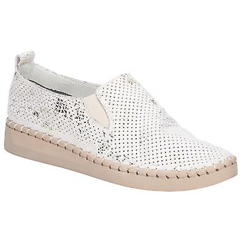 Flota y Foster Mujeres Tulip Slip On Zapato Beige