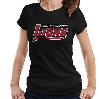 East Mississippi Community College Lions Tail Logo Women's T-Shirt