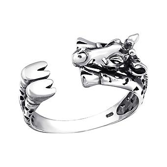 Giraffe - 925 Sterling Silver Plain Rings - W32303x