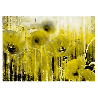 Artgeist Wallpaper Yellow madness (Decoration , Wall murals , Wall murals standard)