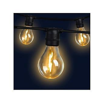 23M Led Festoon String Lights 20 Zestawy żarówek A19