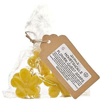 Geißblatt Blume Seifen Geschenktasche von 5