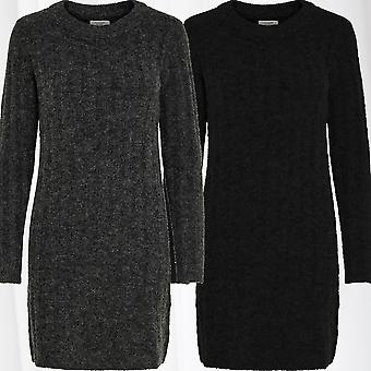JDY Women Pullover Knit Shirt Longsleeve Dress Sleeveed Jumper JDYNINE Melange