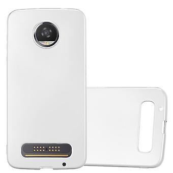 Cadorabo Case for Motorola MOTO Z2 Case Cover - Mobile Phone Case made of flexible TPU silicone - Silicone Case Protective Case Ultra Slim Soft Back Cover Case Bumper