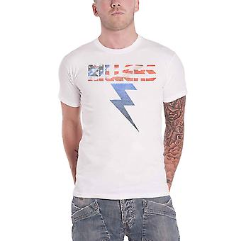 The Killers T Shirt Bolt Band Logo new Official Mens White