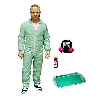 "Breaking Bad Jesse Pinkman 6"" Blue Hazmat Action Figure"