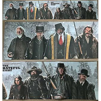 The Hateful Eight Original Movie Poster Single Sided - Ultra Rare 60
