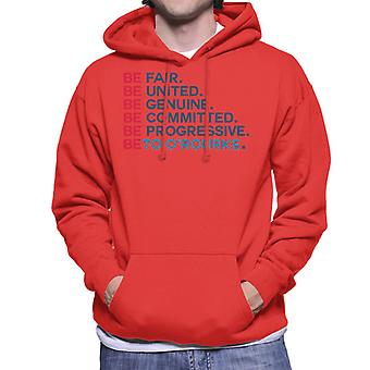 Be Fair United Genuine Beto O'Rourke Men's Hooded Sweatshirt