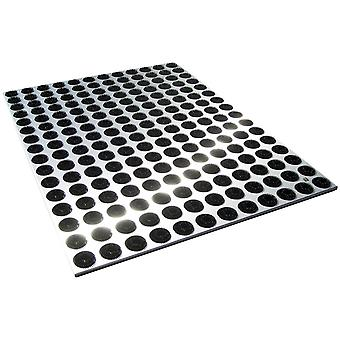 RADIUS floor mat stainless steel feet back large 78 x 58 cm - 513 a