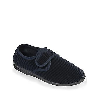 Chums Hombres Touch Fasten Cord Textura Lavable Zapatilla