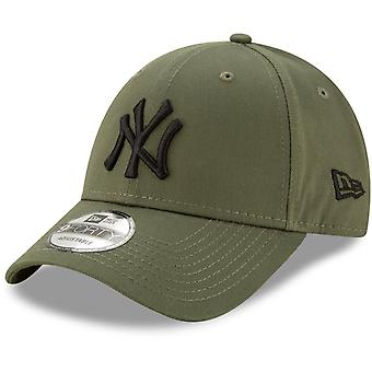 New Era 9Forty Strapback Cap - New York Yankees oliv