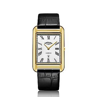 Rotary GS05283-01 Men's Cambridge Oblong Wristwatch