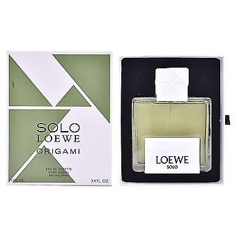 Loewe Solo Loewe Origami Eau de Toilette 100ml EDT Spray