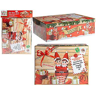 Christmas Shop Elf Christmas Eve box