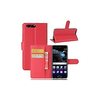 Fall för Huawei P10 Red Grain