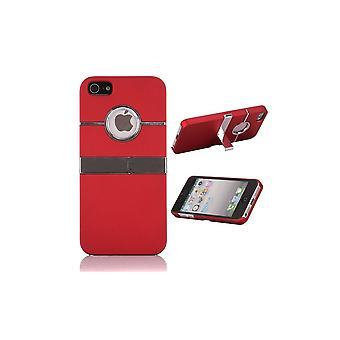 Plastic Shell Logo Apparent Red TV Support For IPhone 5