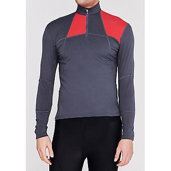 Sugoi Mens Titan CoreZip Long Sleeve Half Zip Sports Cycling Top