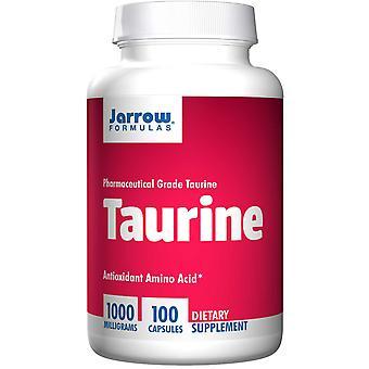 Taurina 1000 mg (100 Cápsulas) - Fórmulas Jarrow