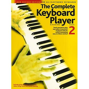 The Complete Keyboard Player  Book 2 Revised Edition by Kenneth Baker