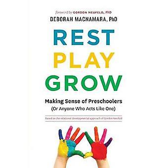 Rest Play Grow Making Sense of Preschoolers Or Anyone Who Acts Like One by MacNamara PhD & Deborah