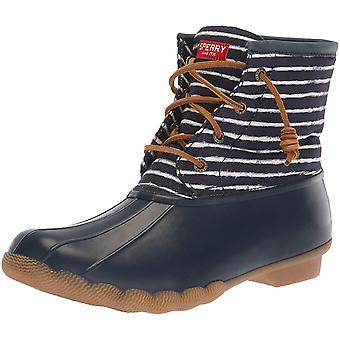 Sperry Womens saltwater Rubber Closed Toe Ankle Cold Weather Boots
