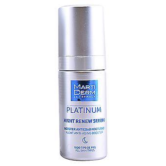 Night-time Anti-ageing Serum Platinum Martiderm (30 ml)