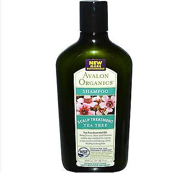 Shampoo Tea Tree hoofdhuid behandeling (325 ml)-Avalon Organics
