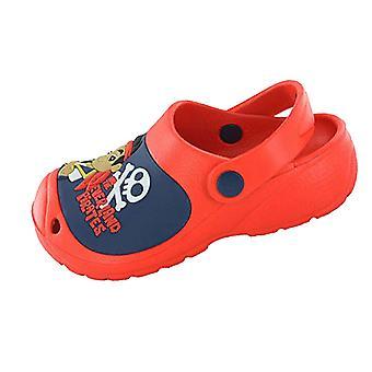 Drenge børn Jake & Neverland pirater tegneserie karakter havet stranden træsko sko 66486
