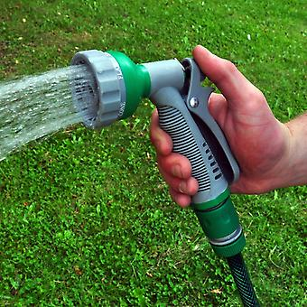 Kabalo 6-Spray Pattern Dial Garden Hose Gun Head Soft Grip Handle Multi Water Sprayer